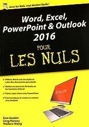 Word, Excel, PowerPoint et Outlook 2016 pour les Nuls mégapoche