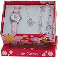 Ravel Little Gems Pony Watch and Silver Plated Jewellery Set