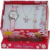 Ravel Children's Jewellery Set: Little Gems Little Pony Watch, Charm Bracelet, Little Pony Necklace in Presentation Box