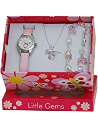 Ravel 'Little Gems' Pony Watch and Silver Plated Jewellery Set.