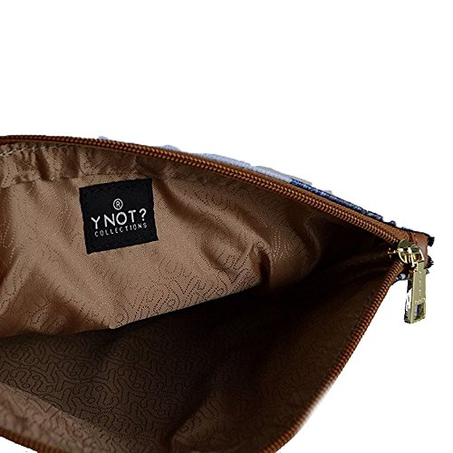 Ynot H-311 Pochette Accessori Multicolore (Paris Seine)