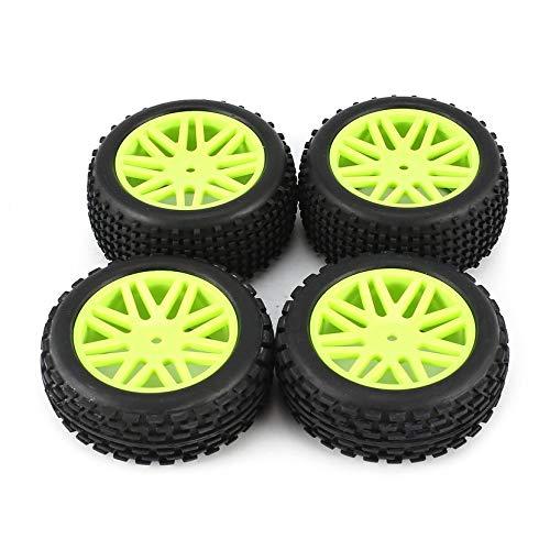 Yogatada-110-Fuori-Scala-universali-4-Pezzi-Buggy-Pneumatici-V-Hole-Cerchioni-Anteriore-e-Posteriore-12mm-Hex-mozzi-con-Schiuma-Inserti