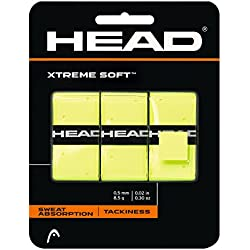 Head Xtreme Soft Overwrap - Grip, color amarillo