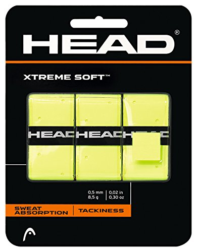 HEAD Overgrip Xtreme Soft 3-er, gelb, One Size, 285104-ye