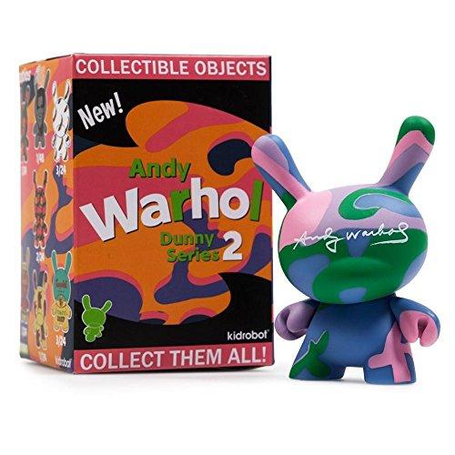 Kidrobot Andy Warhol Dunny Series 2 Blind Box Vinyl Figure - One Random Figure ... -