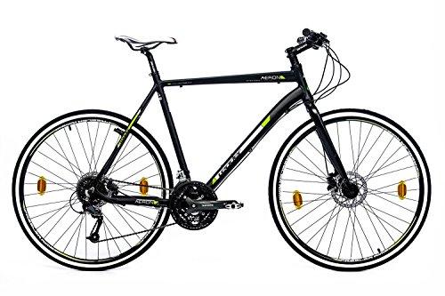 LEADER Crossbike Aeron 2.0 , 28 Zoll, 24 Gang, Scheibenbremsen 71,12 cm (28 Zoll)