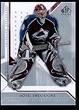 Upper Deck 2006 2007 SP Hockey authentique carte#76 Jose Theodore Avalanche �tat