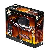 BBQ Collection 45615 Barbecue à charbon avec Couvercle en Acier Inoxydable, 80 x 57 x 100 cm