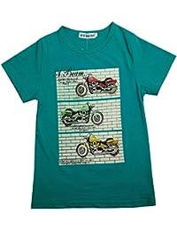 Newfacelook Enfants Garçons T-Shirts Court Manche T Shirt 4-9 Ans
