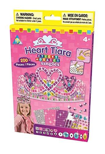 HQ Windspiration Orb Factory 620202 - Sticky Mosaics Heart Tiara (Prinzessin Einhorn Kostüm Hund)