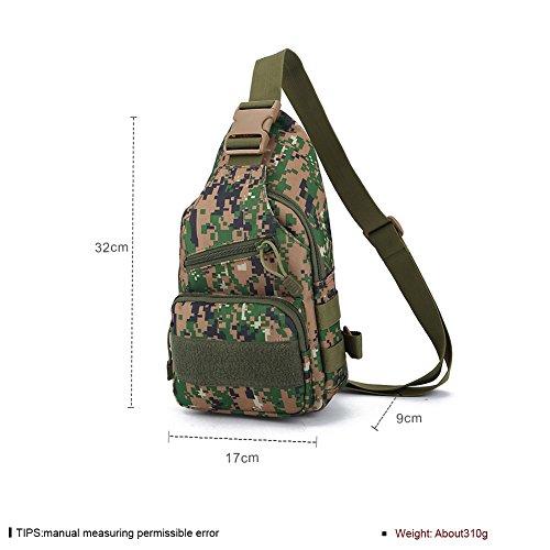 Faysting EU borsa a tracolla Messenger Bag per uomo studenti militare stile vari colori per scegliere buon regalo H