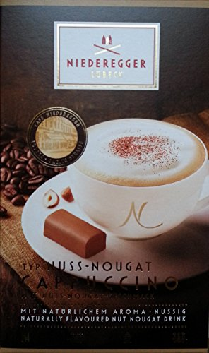 Niederegger Nuss-Nougat Cappuccino, 10x22g (220g)