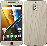 #7: GadGetsWrap Moto G4 Plus Wooden Mapple Skin for Front and Back.