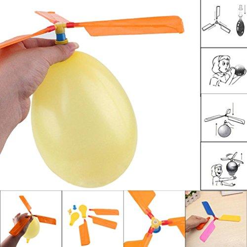 uber fliegen Spielzeug Kind Geburtstag Xmas Party Tasche Strumpf Füller Geschenk Ballon-Hubschrauber Balloons (Kinder Backen Satz)