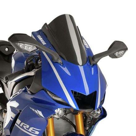 Puig 9723C Racing Scheibe, Yamaha YZF-R6 17'-18', Carbon Look