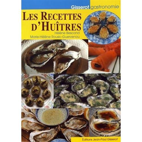 Recettes d'Huîtres (les)