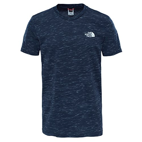 The North Face simple Dome Tee–Camiseta, color navywhite, tamaño large