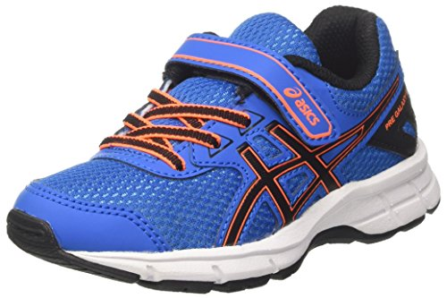 Asics Pre Galaxy 9 Ps, Scarpe da Ginnastica Unisex – Bambini Blu (Directoire Blue/Black/Hot Orange)