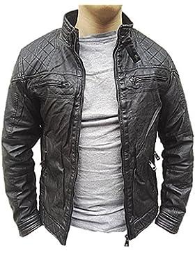 fashionfolie - Abrigo - Blusa - para hombre