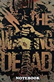 Notebook: All Out War The Walking Dead , Journal for Writing, College Ruled Size 6' x 9', 110 Pages