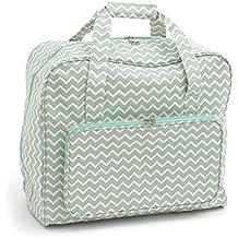 Groves hobbygift exclusivo: máquina de coser bolsa: mate Scribble Chevron, unidades, PVC, algodón, 20x 43x 37cm)