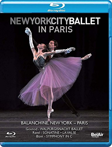 New York City Ballet in Paris [Blu-ray] (City Sound Blu Ray)