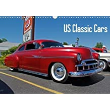 US Classic Cars (Wall Calendar 2018 DIN A3 Landscape): US Classic Cars (Monthly calendar, 14 pages )