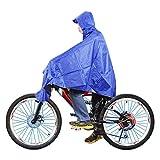 PENGFEI Mantel Regenjacken Poncho Wasserdicht Mountainbike Fahren Zu Fuß der Anstieg Einzelne Person Paar, 2 Farben (Farbe : 2#, größe : XXL)