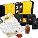 Gewürzset - Geschenkset - Die perfekte Geschenkidee für Geniesser - Kräuter - und Gewürzmischungen mit Rezepten zum Nachkochen (Curry)