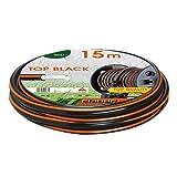 """Manguera para riego de goma no tóxica «Top Black», 15 metros, 5/8"""", 9040"""