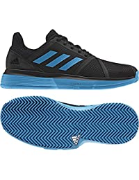 77f4d4c712 adidas Chaussures Homme CourtJame Bounce Terre Battue Noir/Bleu PE 2019