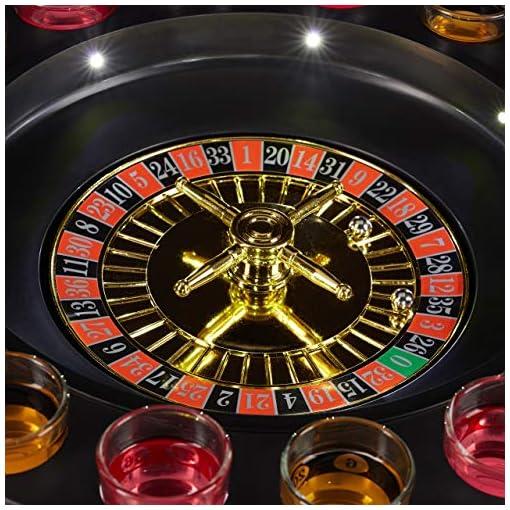 Relaxdays-10024095-Roulette-Trinkspiel-mit-LED-Funktion-Saufspiel-fr-Erwachsene-mit-16-Shotglsern-Partyspiel-rotschwarz