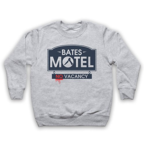 inspire-par-psycho-bates-motel-officieux-sweat-shirt-des-enfants-gris-5-6-years