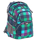 Coocazoo City and School JobJobber2 Laptoprucksack 45 cm green purple district