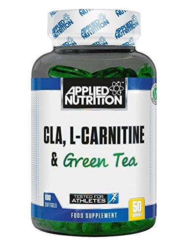 Applied Nutrition CLA L-Carnitine & Green Tea - 100 Softgels