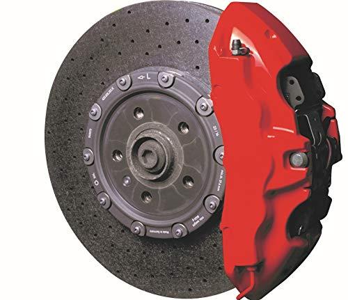 Foliatec 2160 Bremssattel Lack Set, racing rosso -