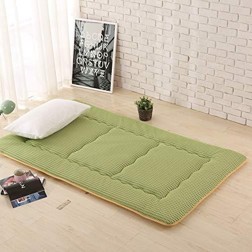 ZHFJIDS Teppich Glänzende 4cm Dicke Tatami Matten Matratze Schlafsäle Boden Pyjamas Nap Matten Schlafzimmer Teppich Mehr Stile Und Farben 100X200CM 14 -