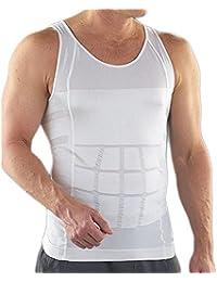 Bauchweg Bodyshaper Slimming T-Shirt Men Miederbody Shapewear Figurformer für Männer