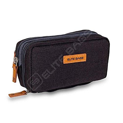Isotherme-Tasche für Diabetiker | Diabetic\'s | Elite Bags | Schwarzen Farben | Für Insulininjektionsgeräte und Blutzuckermessgeräte
