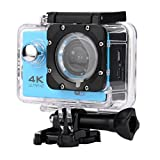 OverDose Wasserdichte 4K SJ60 Wifi HD 1080P Ultra Sports Action Kamera DVR Cam Camcorder (Blue)