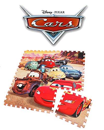 Disney Cars PuzzleMatte, Schaumstoff Puzzle Matte, Spielteppich, Spielmatte Puzzle
