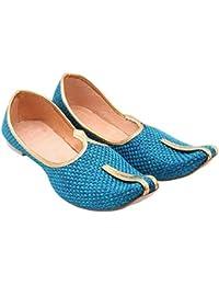 inBlue Men's Handbags ShoesShoesamp; Amazon Footwear Ethnic TuiPkOXZ