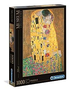 Clementoni - 31442 - Museum Collection Puzzle - Klimt, Il Bacio - 1000 Pezzi