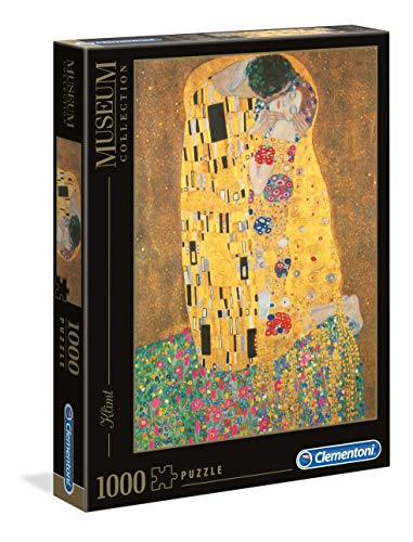 Clementoni - 31442 - Museum Collection Puzzle - Klimt, Il Bacio -...