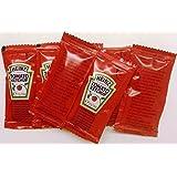 50 Heinz Tomato Ketchup - 50 bolsitas individuales
