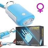 VanGuard - Sistema de alarma móvil como un llavero con luz LED - Llave alarma - Sirena de móvil ideal para niños y adultos, vida útil de 5 años, dura