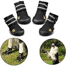 RoyalCare Zapatos para Perros, Botas De Nieve Resistentes Al Agua Y Calientes. Protector De