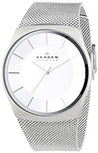 Skagen SKW6067-Men's Watch Analogue Quartz Silver Stainless Steel Strap