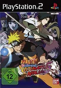 Naruto Shippuden - Ultimate Ninja 5 [Software Pyramide] - [PlayStation 2]