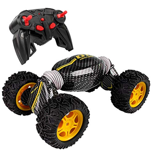 dienung car,2.4 Ghz Radio Fernbedienung 4x4 All Terrain High Speed Off-Road Truck Monster Vehicle Climber Racing Cars Buggy,Yellow ()